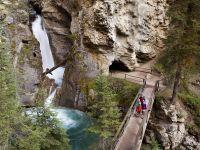 Hiking Johnston Canyon Bow Valley Parkway Paul Zizka 2 Horizontal MED