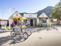 Tour the town of waterton