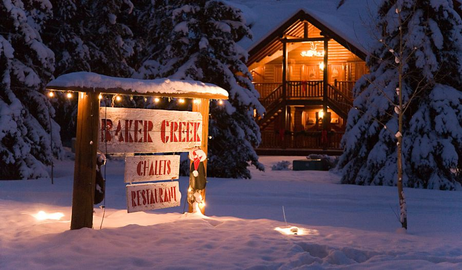 Baker Creek Mountain Resort in winter