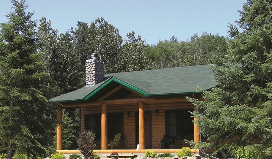 The Prairie Creek Inn Cabin